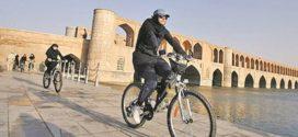 گزارش روزنامه ایران درباره ممنوعیت  دوچرخهسواری بانوان در اصفهان